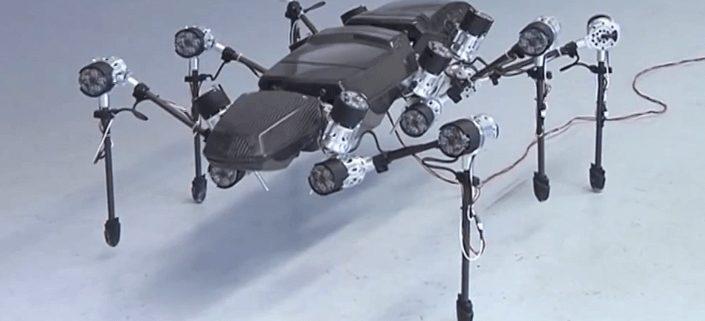 Гигантскоенасекомое роботсделалопервыешаги