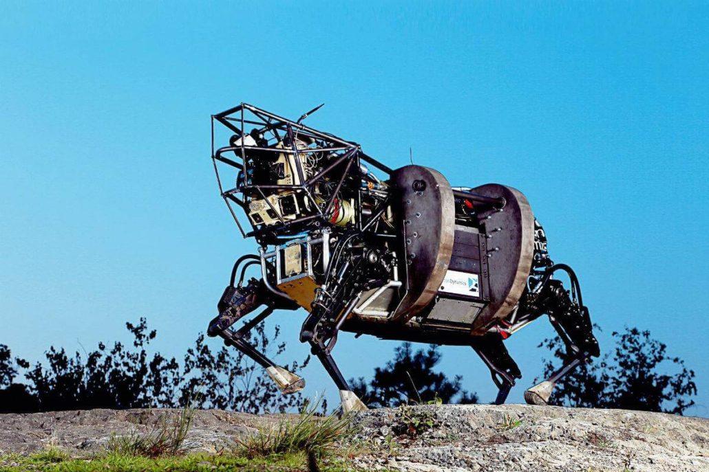 В Бостоне представили робота-собаку