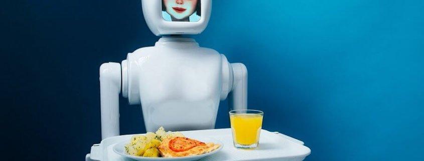 robot oficiant