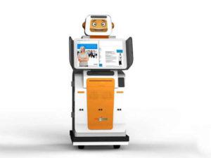 Автономный робот–киоск Time-K
