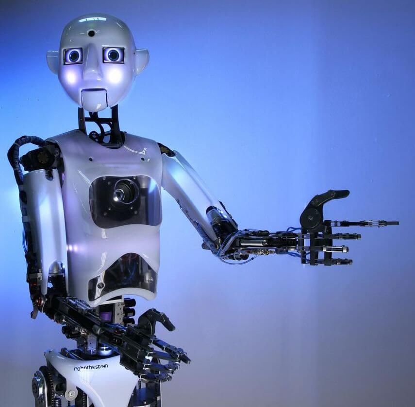 Характеристики робота Thespian