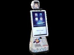 Автономный промо–робот Time-D/FURO-D