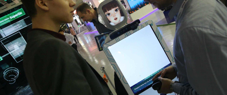 Роботы на Открытых инновациях 2014