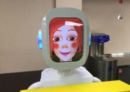 Робот экскурсовод в Музее Шоколада