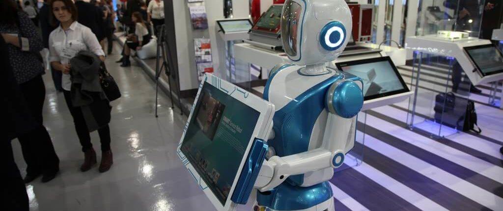 Робот-фотограф / робот-фотопромоутер