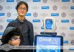 Робот на Дне рождения Технопарка Mail.Ru & МГТУ