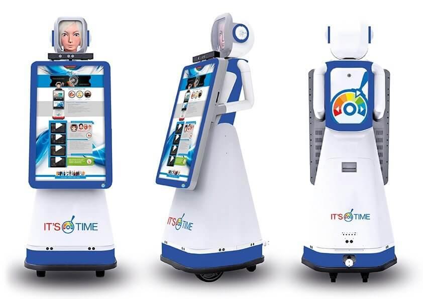 Автономный промо-робот Time-D