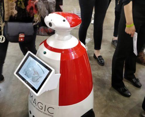Выставка «INTERCHARM 2018». Робот РБот 100 Плюс