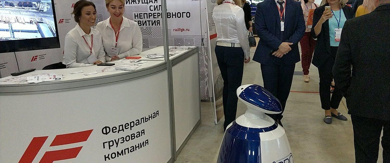 «Промышленный форум ЭТМ 2018», Воронеж, робот РБот 100