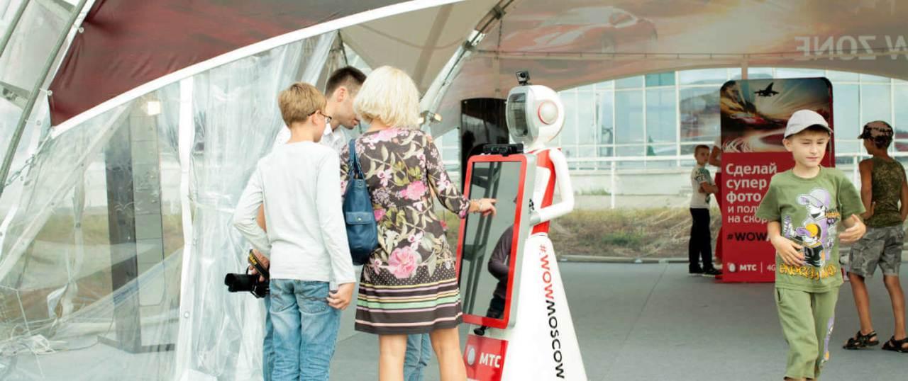 Роботы на шоу «Форсаж» в Жуковском