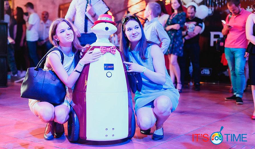 Робот-промоутер: новое слово в маркетинге