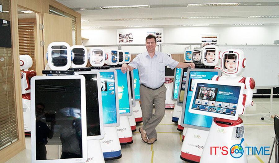 Робот для промо-акций: будущее уже здесь
