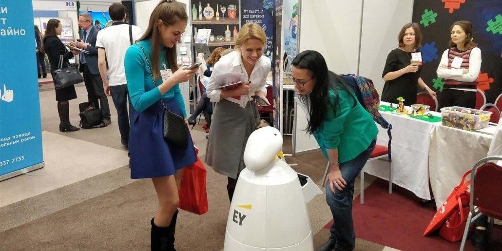 Продажа промо роботов