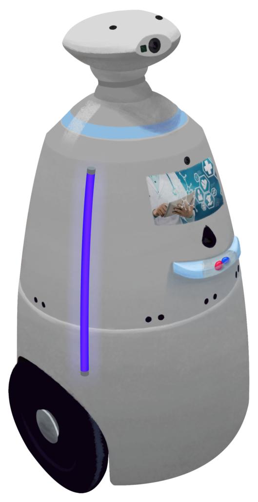 Роботы дезинфекторы