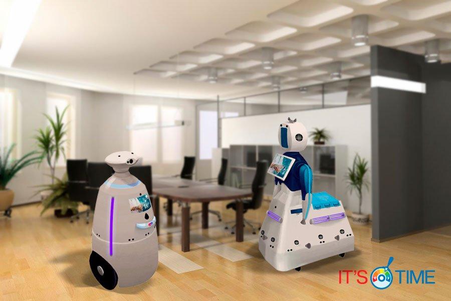 Роботы для дезинфекции помещений