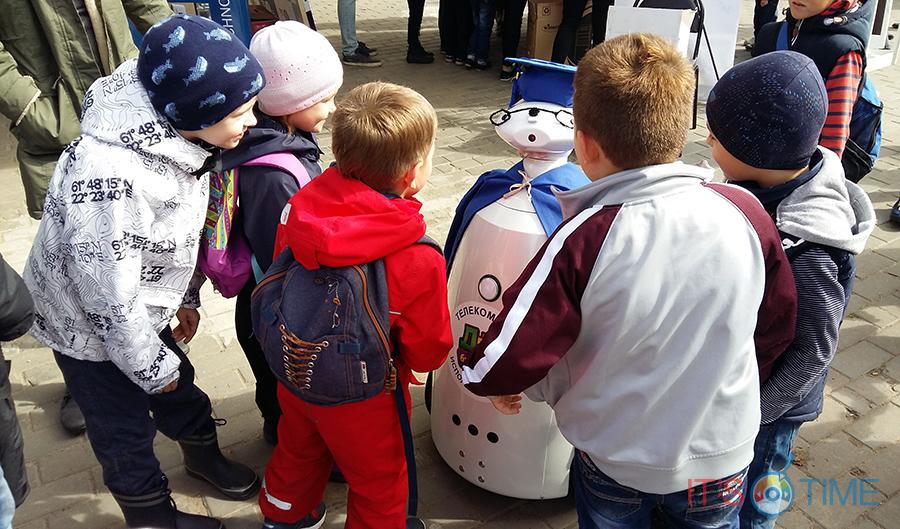 Робот для детского сада – новые технологии в дошкольном образовании