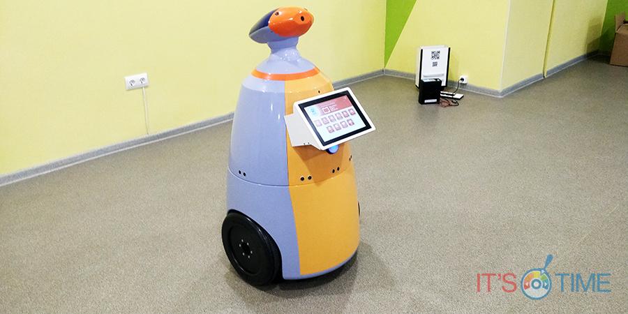Робот для детских учреждений – помощь детям с ограниченными возможностями